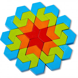 Gioco Haba di composizione blocchi caleidoscopio