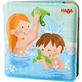 """Libro da bagnetto Haba """"Paul e Pia si lavano"""""""