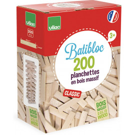 200 tavole in legno vilac naturali