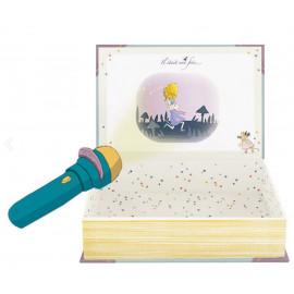 Cofanetto lampada proietta storie della buonanotte