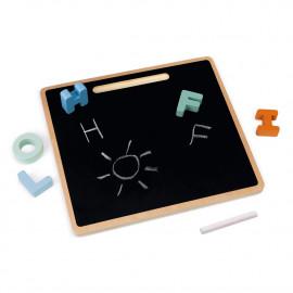 Puzzle alfabeto con lavagna janod sweet cocoon