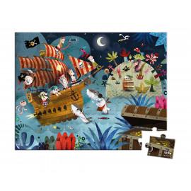 Puzzle pirati Janod