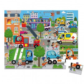 Janod Puzzle della città