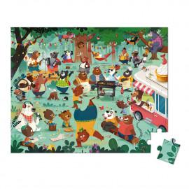 Puzzle la festa degli orsi