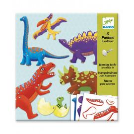 Kit dinosauri jumping jacks djeco