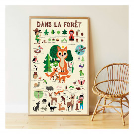 Poster Stickers  foresta Poppik