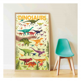 Poster Sticker dinosauri poppik