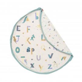 Sacco porta giochi e tappeto animali e alfabeto play and go