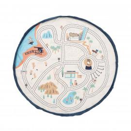 Sacco porta giochi e tappeto L.A. roadmap