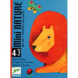 Gioco di carte Djeco Mini nature