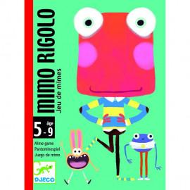 Gioco di carte Djeco Mimo rigolo