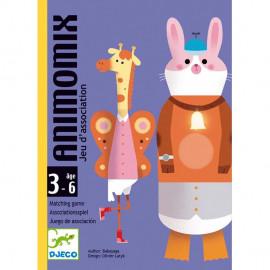 Gioco di carte Djeco Animomix