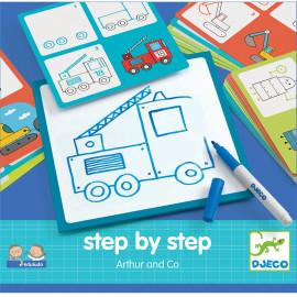 Imparare a disegnare step by step josephine djeco