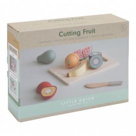 Frutta di legno da tagliare little dutch