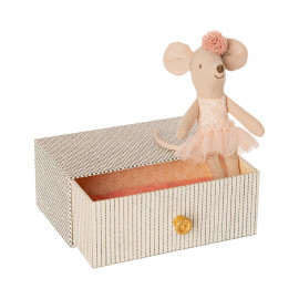 Topolina ballerina con cassetto maileg