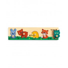 Puzzle in legno forest'n'co djeco