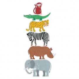 Puzzle gigante henri & friends djeco
