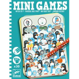 Mini games  Dove sei? djeco