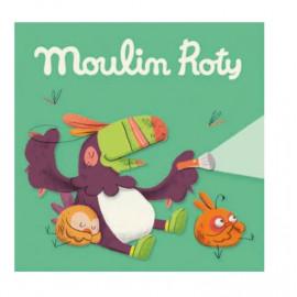 """Scatola 3 dischetti """"la giungla"""" moulin roty"""