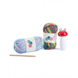 Kit lavoro a maglia tricotin moulin roty