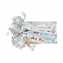 puzzle artico moulin roty 96 pezzi