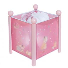 Lanterna magica rosa moulin roty