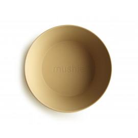 Set 2 ciotole round mustard mushie
