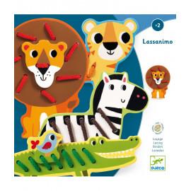 Animali per infilare Lassanimo djeco