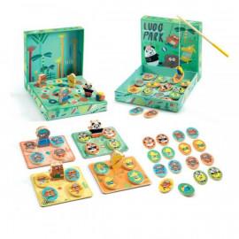 Set di 4 giochi Ludopark djeco