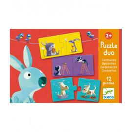 Puzzle duo opposti djeco