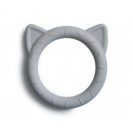 Dentarello silicone Gatto mushie stone