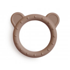 Dentarello silicone mushie orso natural