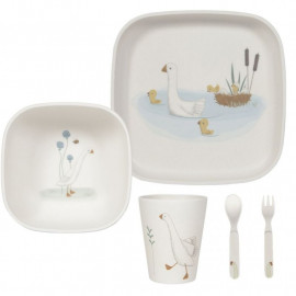 Set pappa in bamboo little dutch little goose