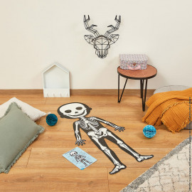 Set 4 puzzle giganti educativi  sul corpo umano janod