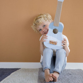 Chitarra in legno little dutch blu
