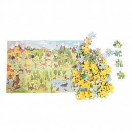 Puzzle foresta moulin roty 96 pz
