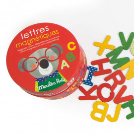 Lettere magnetiche moulin roty 54 pz