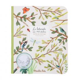 Album da colorare con adesivi il botanista moulin roty
