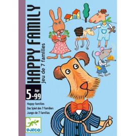Gioco di carte djeco Happy Family
