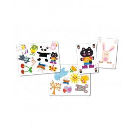 Gioco di carte djeco minimatch