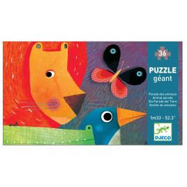 Puzzle gigante animal parade djeco