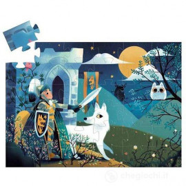 Puzzle djeco il cavaliere e la luna piena 36 pz