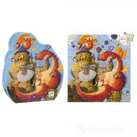 Puzzle djeco Vaillant e il drago 54 pz