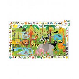 Puzzle di osservazione la la giungla 35pz