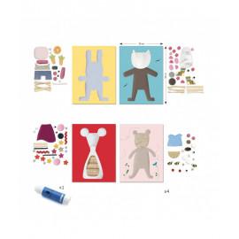 Kit collage per i piccoli djeco