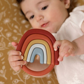 Massaggiagengive little dutch arcobaleno da dentizione in silicone