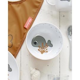Ciotola Done by deer Sea Friends grigio mostarda