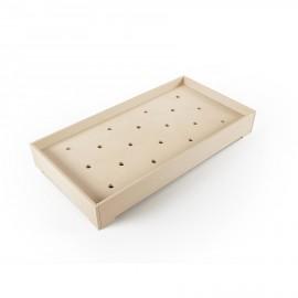 Lettino Montessori in betulla sbiancato - ambientazione Poppykidshop