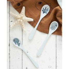 Set 3 cucchiaini done by deer sea friends blu