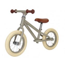 Bicicletta balance bike little dutch verde oliva